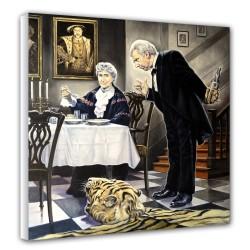 Dinner (2) - Canvas -...