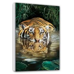 Bamboo - Tiger - Canvas -...